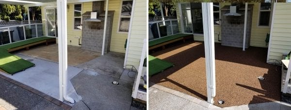 Vancouver Safety Surfacing patio resurfacing